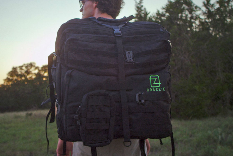 CRAZZIE PRO GTR1 BACKPACK