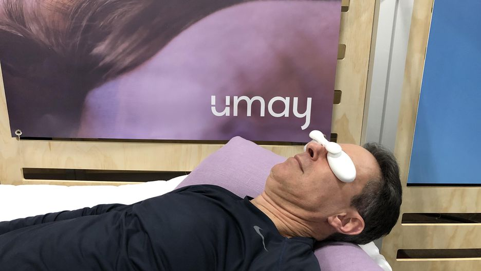 Umay Thermal Meditation device for eyes