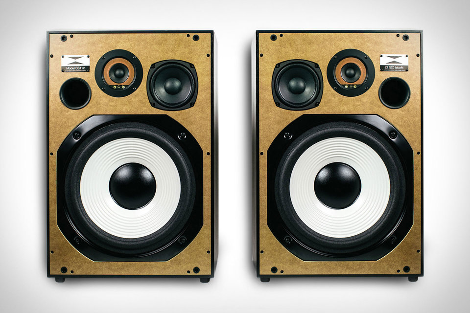 WESLEY & KEMP X UNCRATE CS112 SPEAKERS