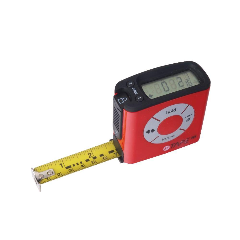 eTape 16 digital tape measure