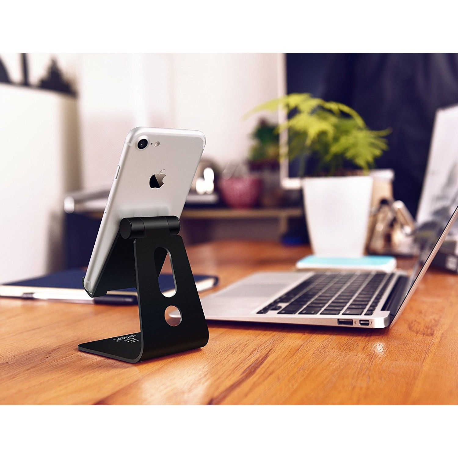 Lamicall Adjustable Cell Phone Stand A-Stand 02
