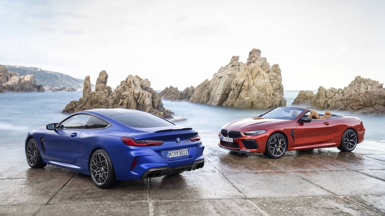 BMW M8 Coupe and Competition 2020