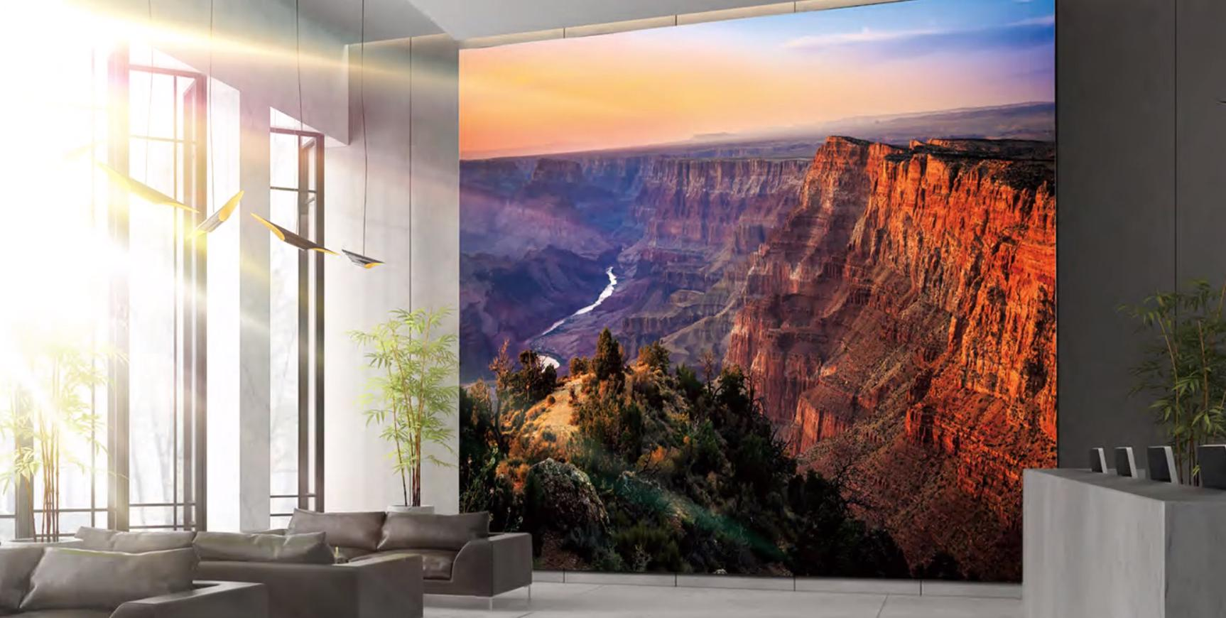 Samsung The Wall Luxury Modular Display