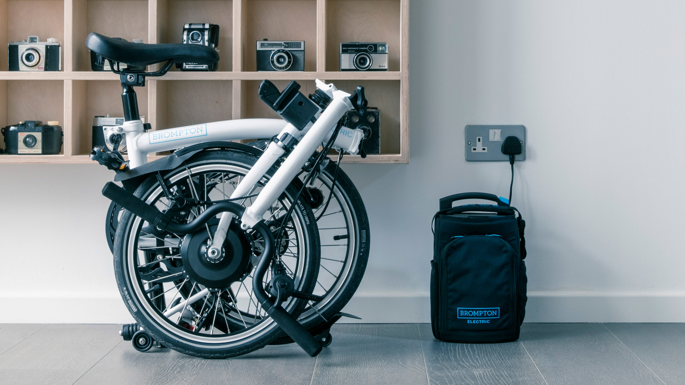 Brompton Electric Foldable Bike